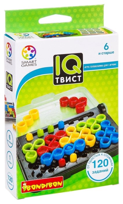 Головоломка BONDIBON Smart Games IQ-Твист (BB0868)