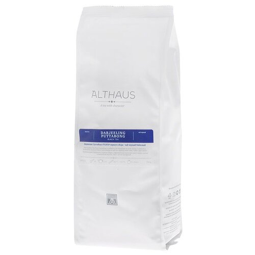 Чай черный Althaus Darjeeling Puttabong, 250 г althaus essence of fruin фруктовый листовой чай 250 г