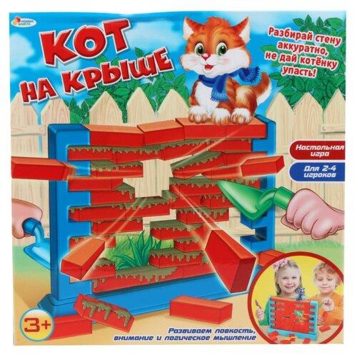 Купить Настольная игра Играем вместе Кот на крыше, Настольные игры
