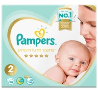 Pampers подгузники Premium Care 2 (4-8 кг) 102 шт.