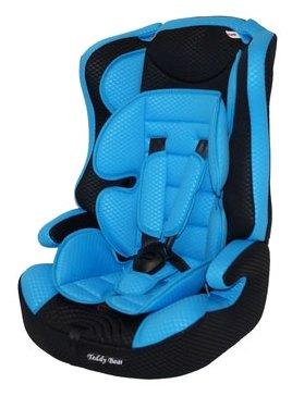 Купить Автокресло группа 1/2/3 (9-36 кг) Мишутка LB 513RF, blue/black по низкой цене с доставкой из Яндекс.Маркета