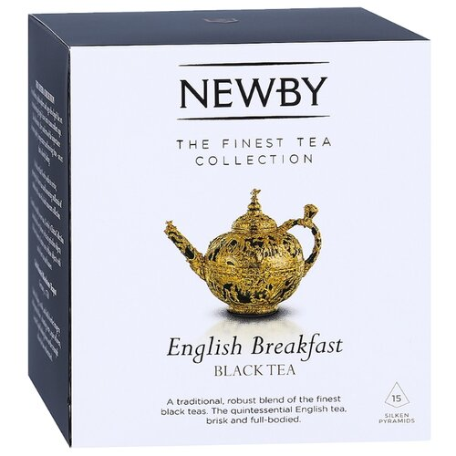 Чай черный Newby English breakfast в пирамидках , 37.5 г , 15 шт. newby hunan green зеленый чай в пирамидках 15 шт