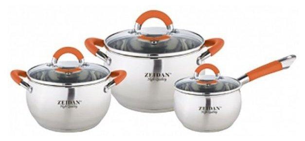 Набор посуды Zeidan Z-50618 (6 предметов)