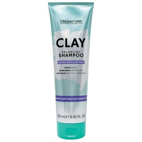 Creightons шампунь Clay Balancing для смешанного типа волос с глиной 250 млШампуни<br>
