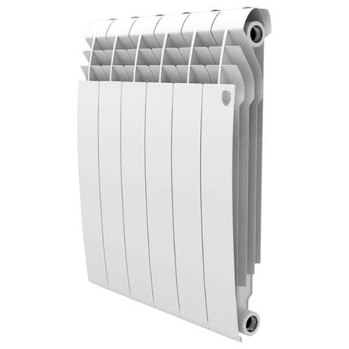 Радиатор секционный биметаллический Royal Thermo BiLiner 500 x10 теплоотдача 1110 Вт, 10 секций, подключение универсальное боковое Bianco Traffico фото