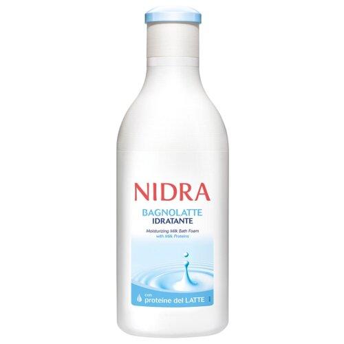 Nidra Пена-молочко для ванны с молочными протеинами увлажняющая 750 млПена, соль, масло<br>