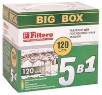 Filtero 5 в 1 таблетки для посудомоечной машины 60 шт.