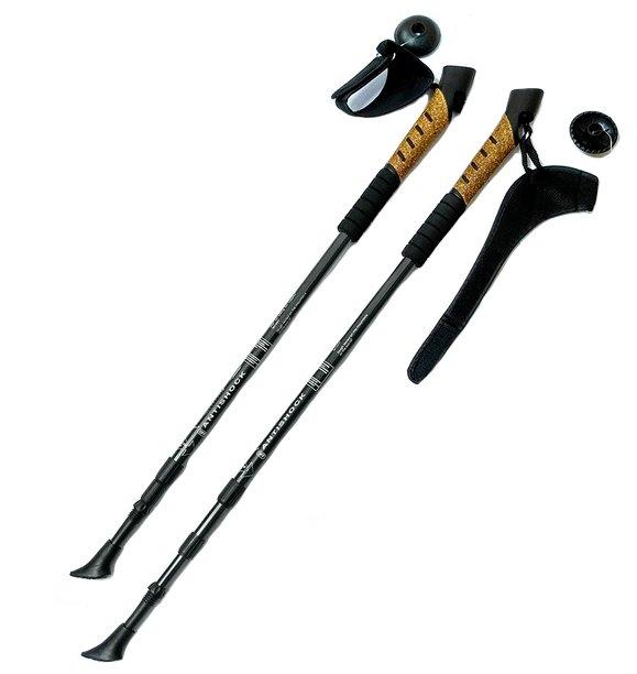 Палка для скандинавской ходьбы 2 шт. Hawk Телескопические с системой Антишок F18442