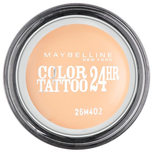 Maybelline New York Тени для век Color Tattoo 24 часа 93, Бежевая нежность maybelline color tattoo тени для глаз тон 102 мерцающая фантазия