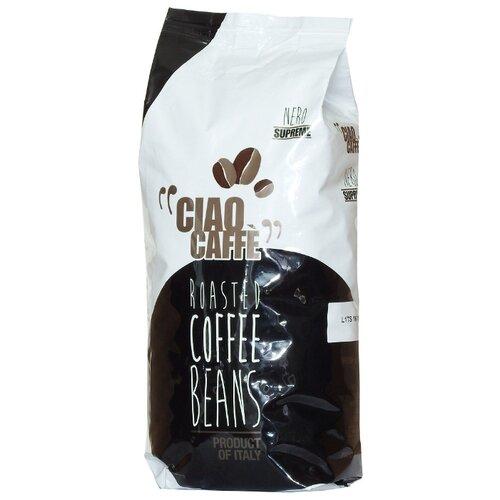 Кофе в зернах Ciao Caffe Supreme, арабика/робуста, 1 кг кофе зерновой ciao caffe rosso classic