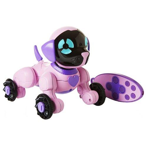 Купить Интерактивная игрушка робот WowWee Chippies розовый, Роботы и трансформеры