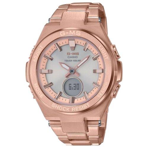 Наручные часы CASIO MSG-S200DG-4A наручные часы casio gax 100x 4a