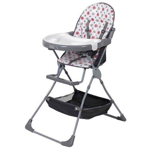 Стульчик для кормления Selby SH-252 серый стульчик для кормления babys piggy розовый