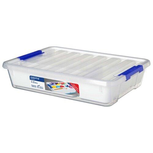 Sistema Контейнер универсальный Storage 32,3х24,5х7,1 см прозрачныйКорзины, коробки и контейнеры<br>