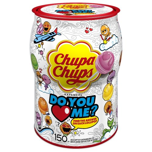 Карамель Chupa Chups Do you love me? 1800 г