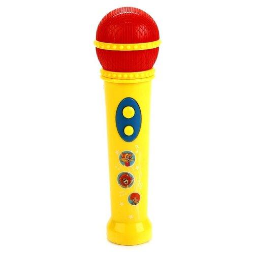 Умка микрофон B1433764-R2 красный/желтый, Детские музыкальные инструменты  - купить со скидкой