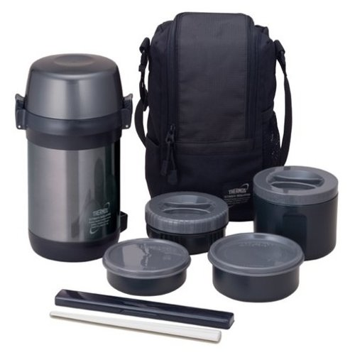 Фото - Термос для еды Thermos JLS-1601 (1,6 л) черный термос 1 2 л thermos king sk2010 черный 712608
