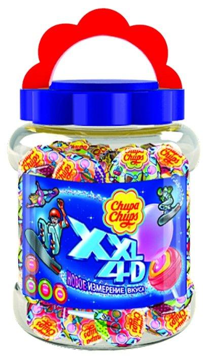 Карамель Chupa Chups XXL 4D с жевательной резинкой 1740 г