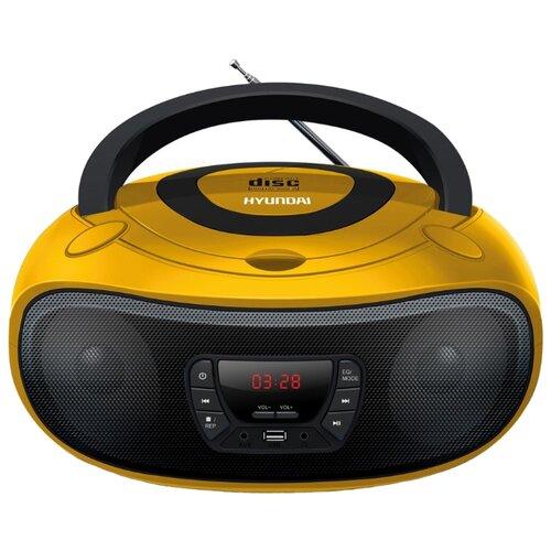 Магнитола Hyundai H-PCD240/H-PCD260/H-PCD280/H-PCD300 желтый/черный