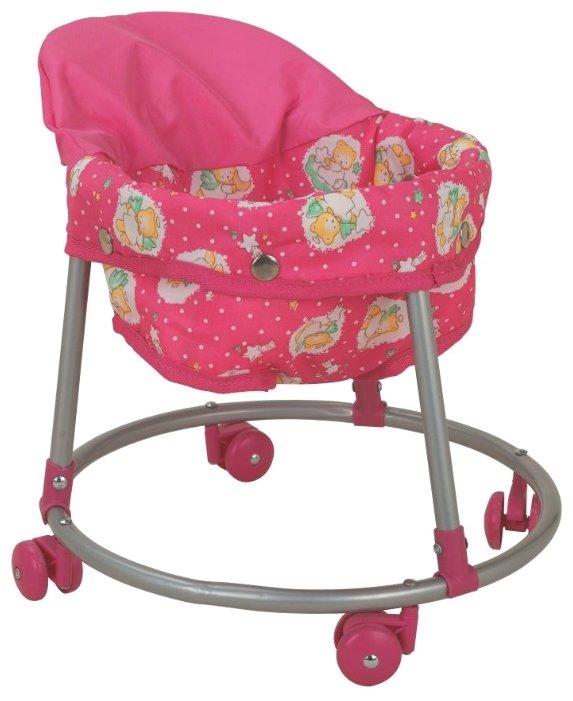 Ходунки Buggy Boom Loona 8779-2 розовый с ангелочками