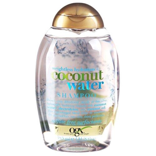 OGX шампунь Weightless Hydration Coconut Water 385 млШампуни<br>