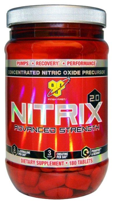 Предтренировочный комплекс BSN Nitrix 2.0 (180 таблеток)