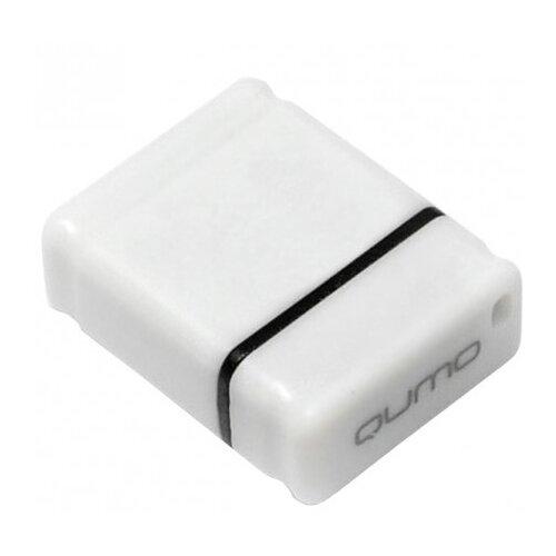 Флешка Qumo nanoDrive 32Gb белый usb флешка qumo nanodrive qm32gud nano b 32gb black