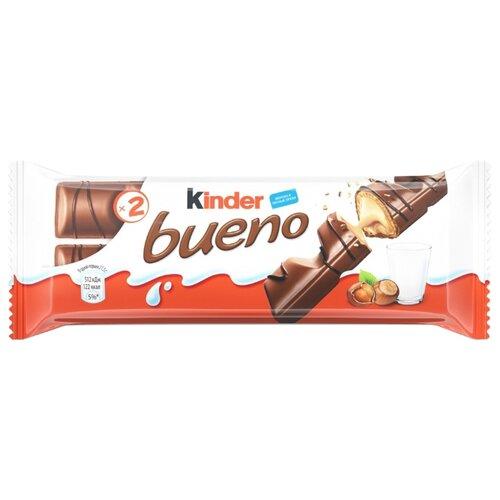 Батончик Kinder Bueno, 43 гШоколадные батончики<br>