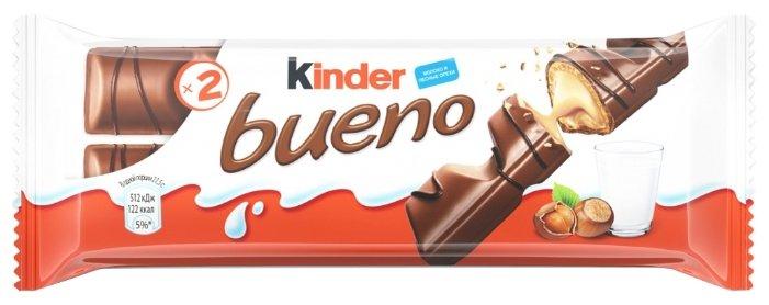 Батончик Kinder Bueno, 43 г