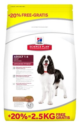 Корм для собак Hill's Science Plan Canine Adult Advanced Fitness Lamb & Rice