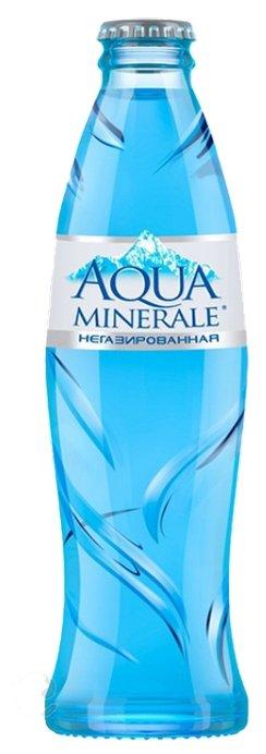 Вода питьевая Аква Минерале негазированная, стекло
