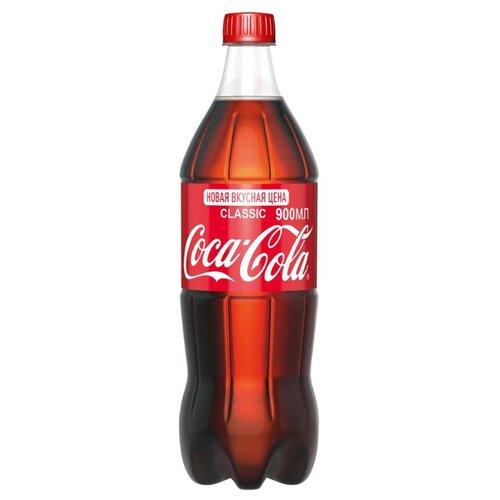 Газированный напиток Coca-Cola Classic, 0.9 лЛимонады и газированные напитки<br>