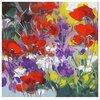 "Color Kit Картина по номерам ""Луговые цветы"" 30х30 см (CD012)"