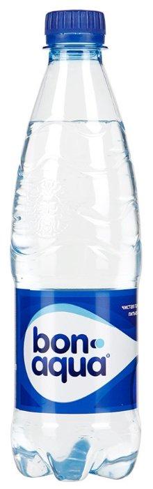 Вода питьевая Bon Aqua газированная ПЭТ