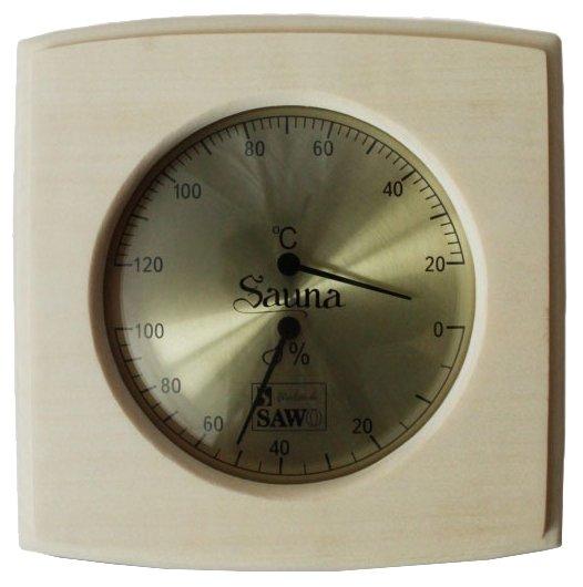 Термогигрометр SAWO 285-THA (Осина (A), 170x175 мм)