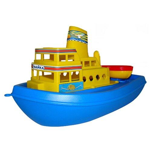 Набор техники Полесье Чайка (36964) желтый/синий