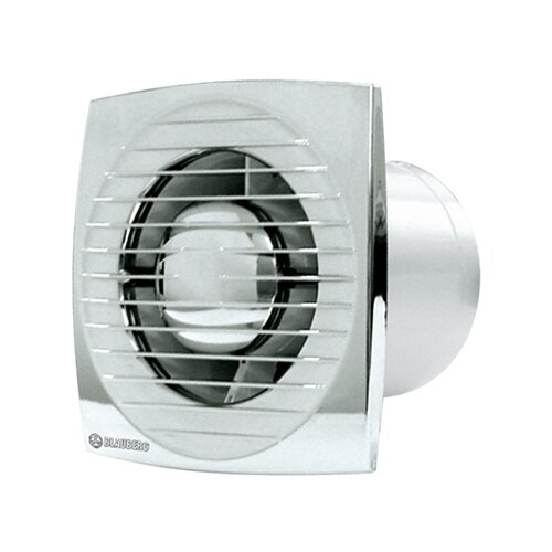 Фото - Вытяжной вентилятор Blauberg Bravo 125, chrome 16 Вт вытяжной вентилятор blauberg bravo 125 белый 16 вт