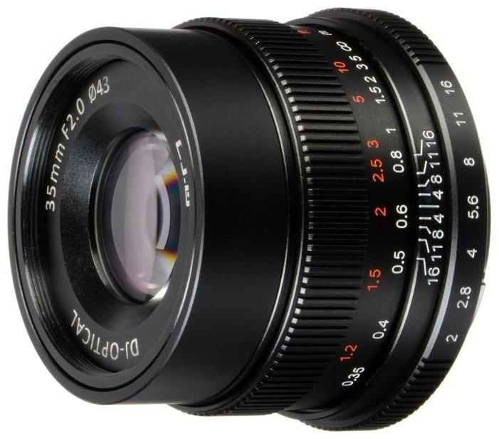 Объектив 7artisans 35mm f/2 Leica M