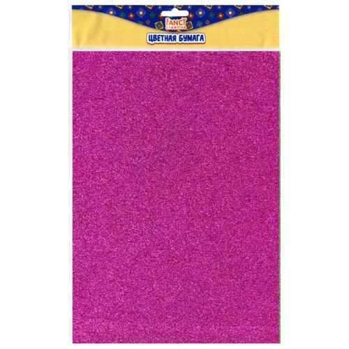 Цветная бумага сверкающая FANCY creative Action!, A4, 6 л., 6 цв.