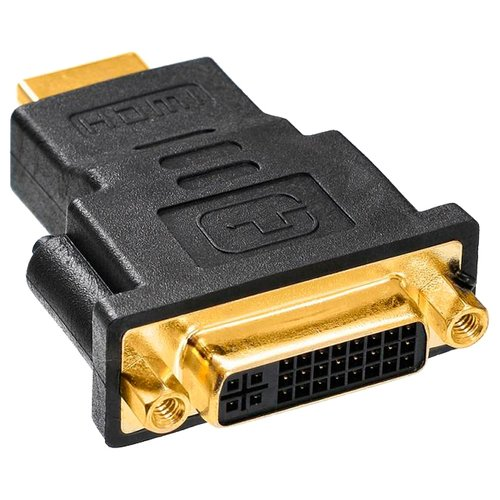 Купить Переходник Buro HDMI - DVI-D (HDMI-19M-DVI-DF-ADPT) черный
