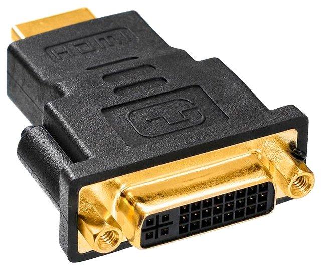 Переходник Buro HDMI - DVI-D (HDMI-19M-DVI-DF-ADPT)