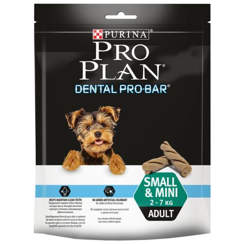 Фото - Лакомство для собак Pro Plan Dental ProBar Small&Mini для поддержания здоровья полости рта, 150 г dog food pro plan small