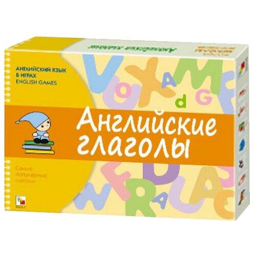 Купить Настольная игра Мозаика-Синтез Английские глаголы, Настольные игры