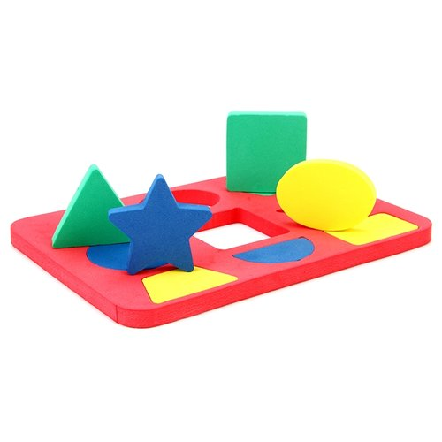 Рамка-вкладыш Бомик Геометрия (108), 9 дет. рамка вкладыш woodland 082101 монтессори геометрия 1
