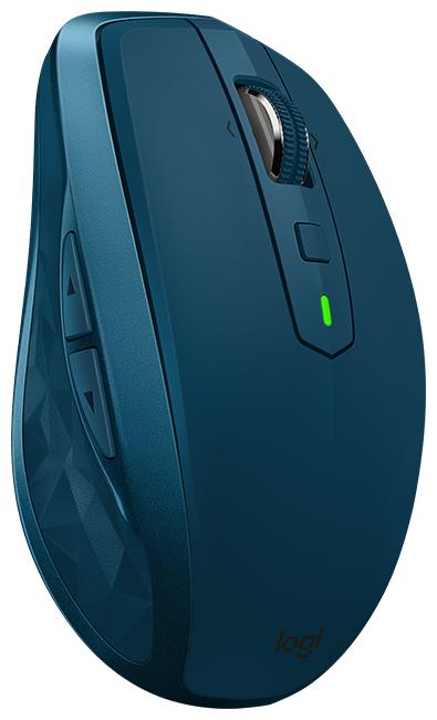 Купить Беспроводная мышь Logitech MX Anywhere 2S Midnight Teal Bluetooth по низкой цене с доставкой из Яндекс.Маркета (бывший Беру)
