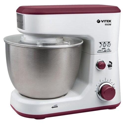 Миксер VITEK VT-1433, белый/фиолетовый