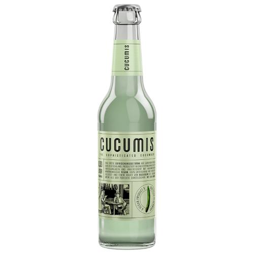 Лимонад Cucumis The Sophisticated Cucumber (Огурец), 0.33 лЛимонады и газированные напитки<br>