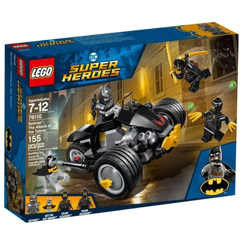 Конструктор LEGO DC Super Heroes 76110 Бэтмен: Нападение КогтейКонструкторы<br>