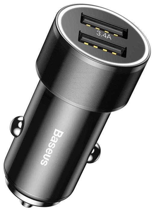 Автомобильная зарядка Baseus TZXLD-A01
