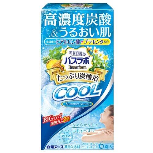 Hakugen Соль для ванны HERS Мята, ананас, плюмерия, вербена 465 гПена, соль, масло<br>